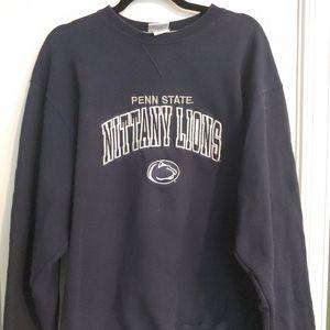 Champion Vintage Penn State large navy sweatshirt